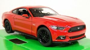 Nex-Models-1-24-27-Scale-2015-Ford-Mustang-5-0-GT-Red-Diecast-model-car