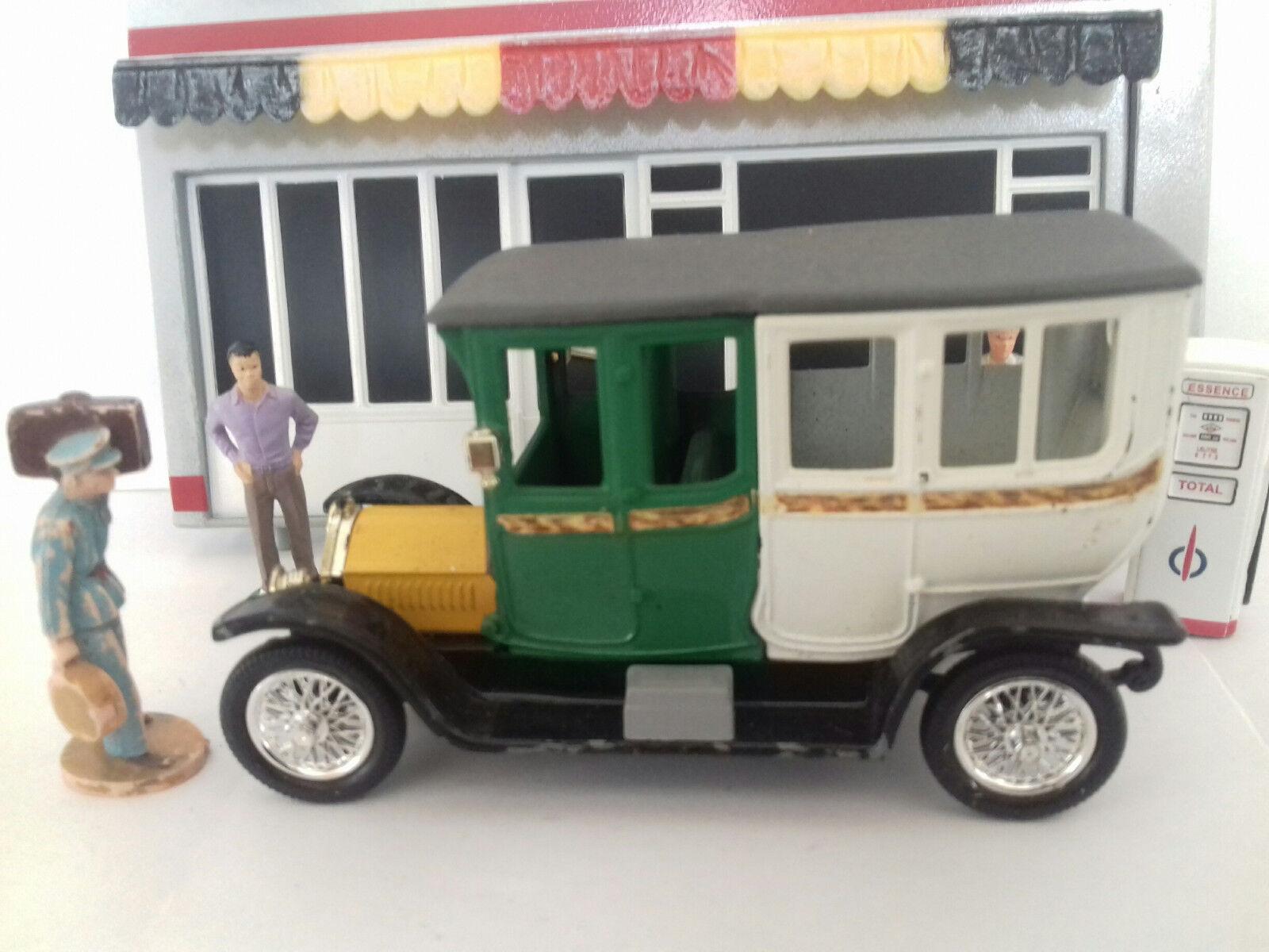 Rami Jmk Berliet 1900 Auto Miniature 143 Tacot Toit Toit Toit Gris