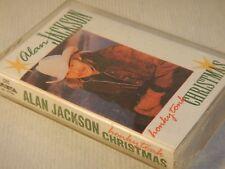 honky tonk christmas by alan jackson cassette nov 1995 arista - Alan Jackson Honky Tonk Christmas