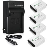 Nb-5l Battery & Charger For Canon Powershot S100 Sd790 Sd890 970 Is 980 Sx230 Hs