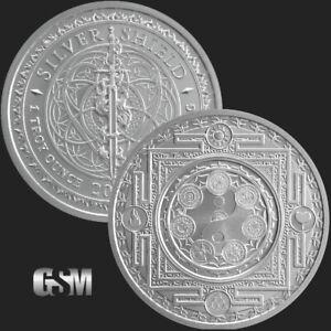 1-oz-Cosmic-Archetype-MiniMintage-BU-Silver-Round-999-Fine-Conscientia-IN-STOCK