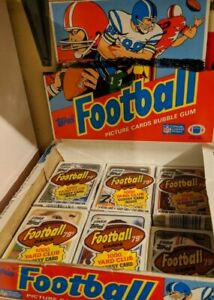 (1) 1988 Topps Football Unopened Cello Pack from Box Bo Jackson Rookie RC