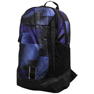 a742ff73b6 Nike Pro Adapt Graphic Backpack BA5251 512 Blue Black School Bag ...