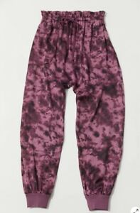 Urban Outfiters Pant M /Out From Under Hansel Tie-Dye Jogger Satin Pant