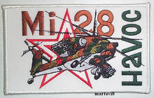Russian `MI-28 HAVOC` Helicopter Cloth Badge / Patch (R4)
