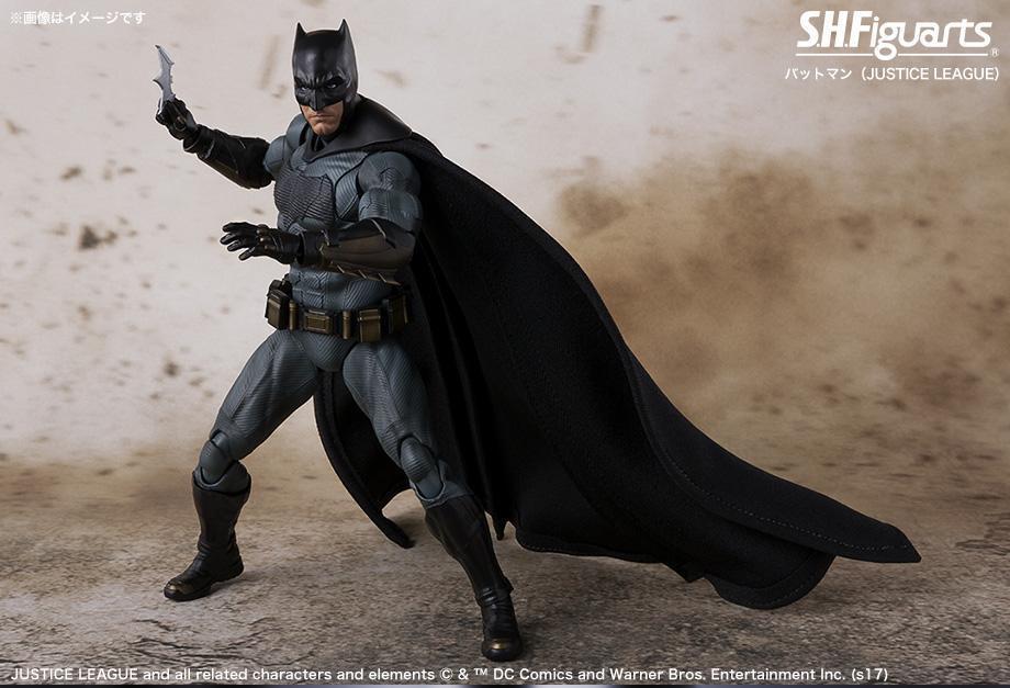 DC Bandai SH Figuarts Justice League Batman Action Figure