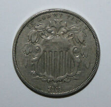 1868 SHIELD NICKEL CC7