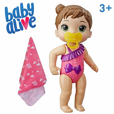 Baby Alive Splash /'n Snuggle Baby Water Play Doll with Accessories New//Sealed