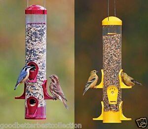 Hanging-Wild-Bird-Feeder-Garden-Seed-Container-Finch-Squirrel-Proof-Barn-2