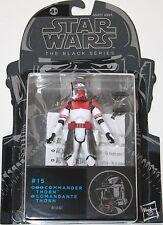 "Star Wars 3.75"" Black Series Figure - #15 Commander Thorn - Hasbro Original NEW"
