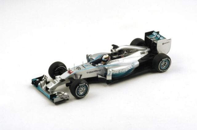Spark Mercedes F1 W05 #44 Hamilton Winner British GP 2014 1/18