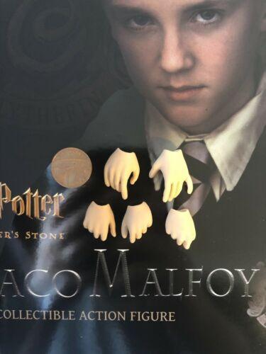Star Ace Harry Potter sorciers Stone Drago Malefoy Mains X 5 loose échelle 1//6th