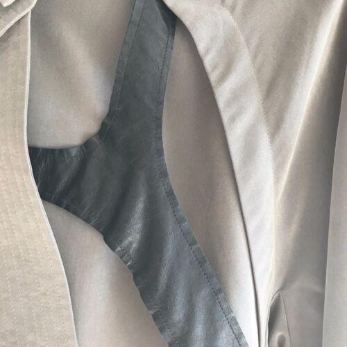 Jakke Med Læder Worn Taupe Once Minkoff Large Detail Størrelse Rebecca atq7EIxwq