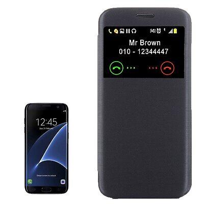 S-View Case für Galaxy S7 Edge G935 Flip Schutzhülle Hülle Tasche Cover Samsung