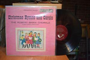 Robert-Shaw-Chorale-Christmas-Hymns-Carols-Vol-1-LP-RCA-LM1112-MN-Red-Seal
