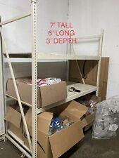 Industrial Shelving Pallet Shelving 7 Tall X 6 Long 3 Depth Heavy Duty Wood