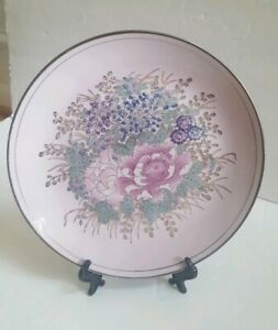 TOYO-H-F-P-Macau-Art-Deco-Plate-Decorative-10-034-Vintage
