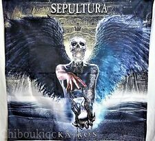 SEPULTURA Kairos HUGE 4X4 banner poster tapestry cd album cover art