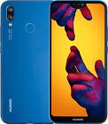 Huawei P20 Lite - 64GB - Klein Blue (Libre) (Dual SIM)