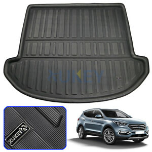 For-Hyundai-Santa-Fe-7-seats-2013-2018-Boot-Liner-Trunk-Cargo-Mat-Floor-Tray