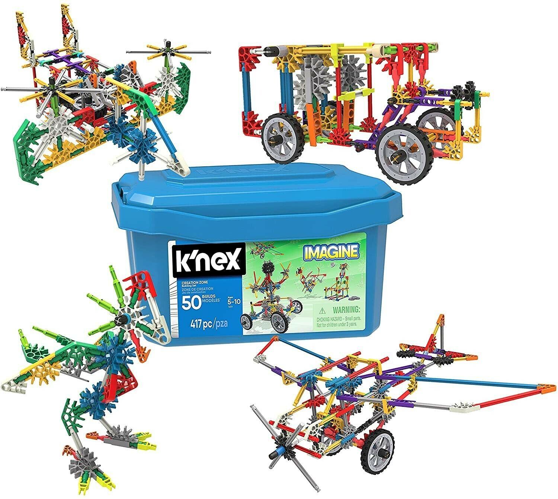 KNEX 4 PIECE PART LOT GRAY CONES 1 5//8/' TALL