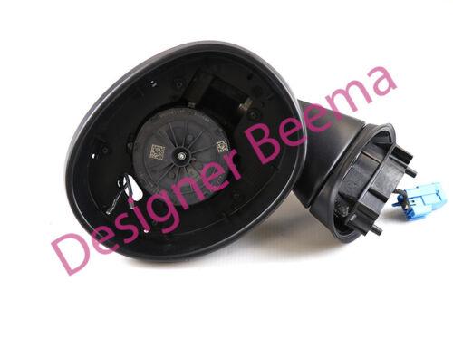 No Lens Left JS MINI F55 F56 F57 Exterior Heated Wing Door Mirror