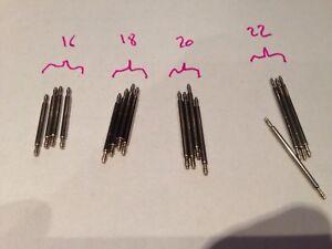 pour montre Largeur 18 mm Lot 10 Anses  //Tiges //Pompes spring bar