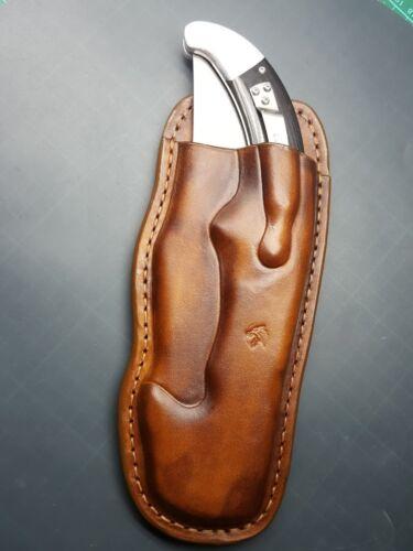 both versions or Rajah 2 Leather pancake sheath for Cold Steel Espada XL