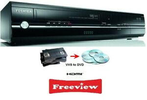 Toshiba-DVR18-DVD-VHS-Combi-Recorder-With-Freeview-TRANSFERS-VHS-ONTO-DVD