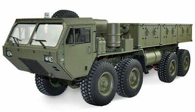 Amewi U.s. Militare Scale Truck 8x8 1:12 Con Superficie Di Carico Rtr, Verde - 22389-mostra Il Titolo Originale