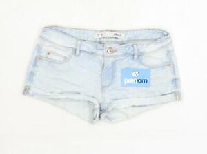 Womens-Denim-Co-Blue-Denim-Shorts-Size-8-L2