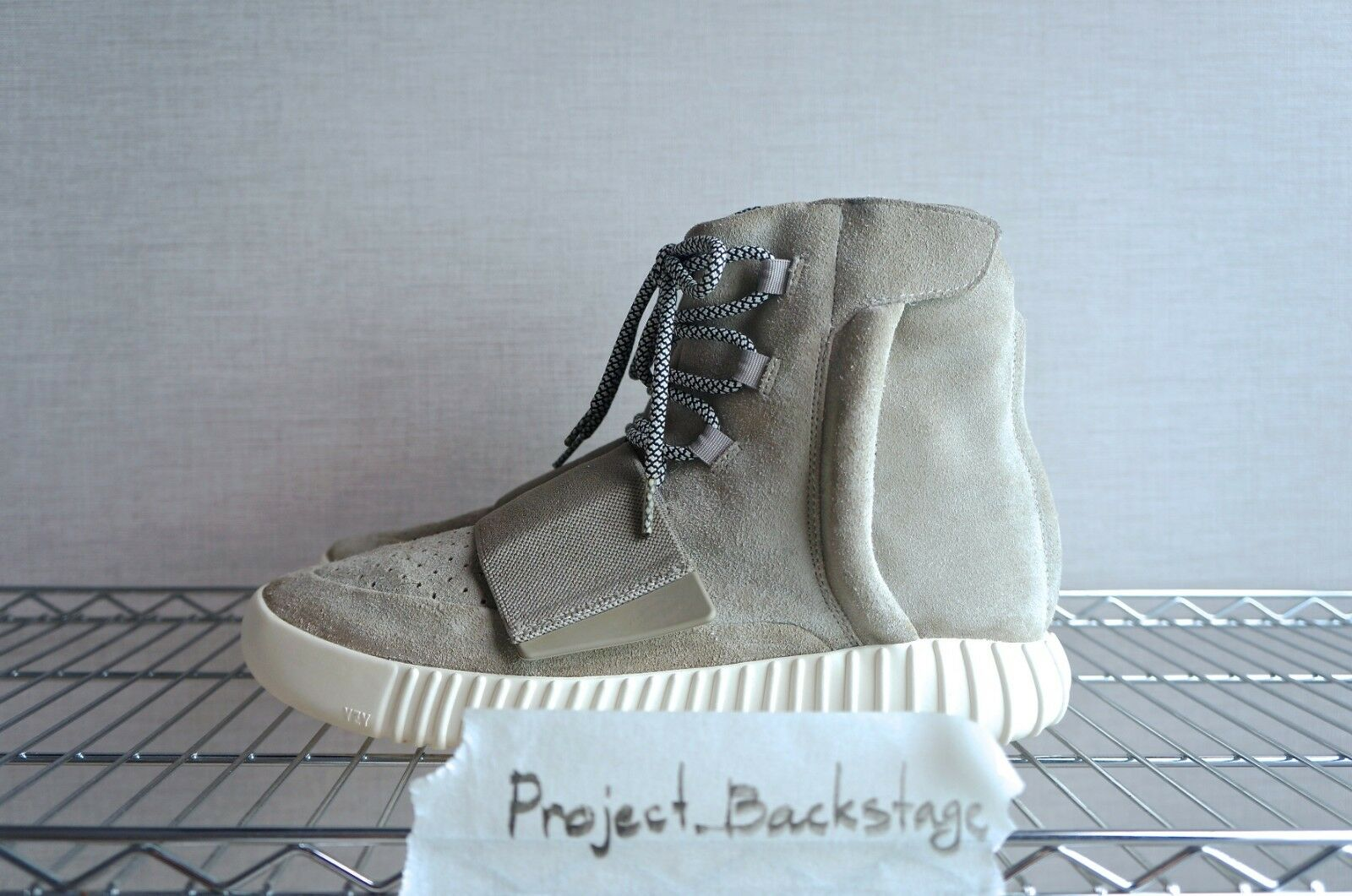 ADIDAS YEEZY 750 BOOST LIGHT BROWN OG SIZE 10US 44% AUTHENTIC