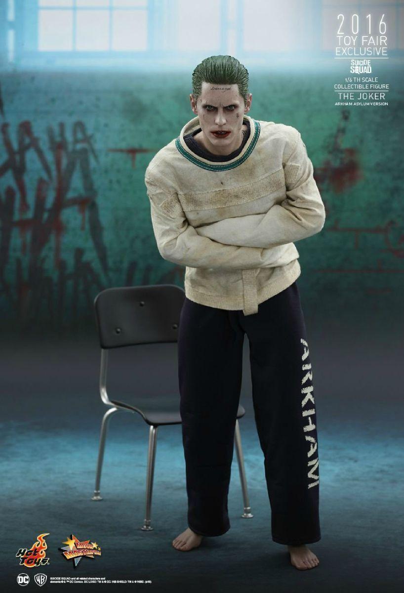 Movie Masterpiece Suicide Squad THE JOKER ARKHAM ASYLUM Ver 1 6 Figure Japan