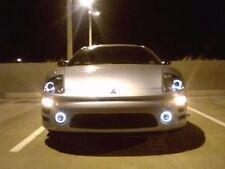 Led Angel Eye Fog Lamps Halo Driving Light Kit For 2000 2002 Mitsubishi Eclipse Fits 2002 Mitsubishi Eclipse
