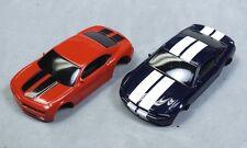 HO Slot Car Parts Lot - Life Like Ford Mustang & Chevy Camaro Bodies - New