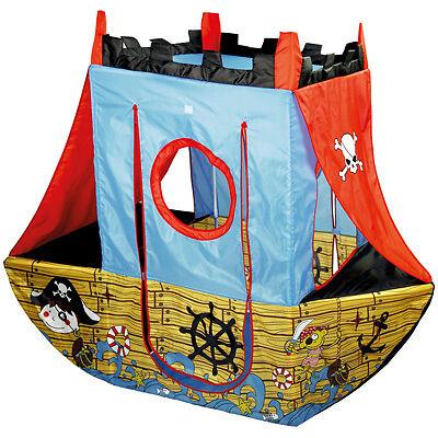 Knorrtoys Spielzelt Piratenschiff Kinderzelt Zelt Pirat Spielhaus Boot Schiff
