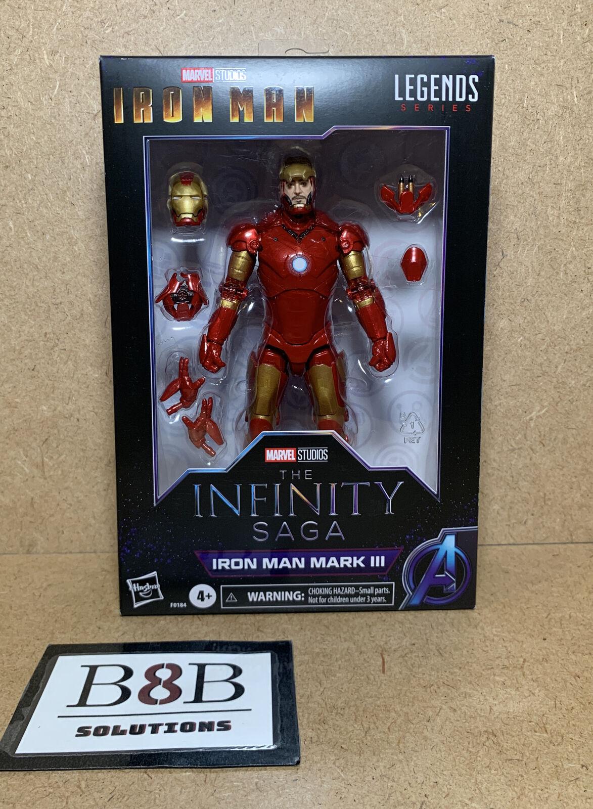 "✅ Marvel Legends Infinity Saga 6""Figure Studios Series Iron Man Mark III   NEW   on eBay thumbnail"