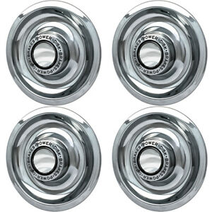 4-PC-Hubcaps-Fits-Chevy-GM-15-034-Silver-Bolt-In-Replacement-Wheel-Rim-Cover