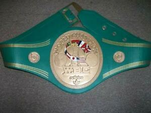 WBC WORLD CHAMPION 3D REPLICA BELT 4 MM BRASS PLATES ADULT FULL SIZE