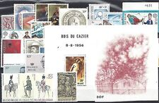 belgie volledige jaargang 1981 - postfris incl blok