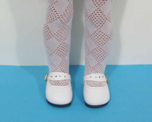 WHITE Splendid Doll Shoes For 14 American Girl Wellie Wisher Wishers (Debs)