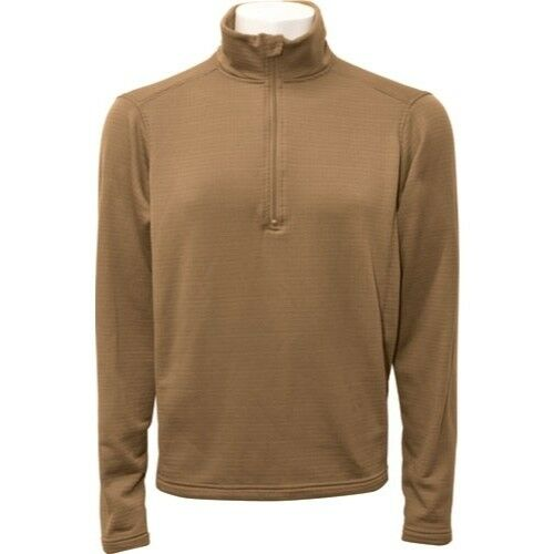 ECWCS Layer 2 Coyote Beyond Clothing Thermal Winter Dry Fleece//Grid Pullover