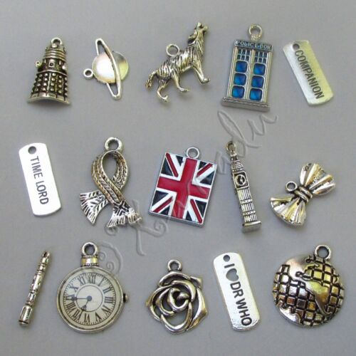 20 Or 50PCs Doctor Who Sonic Screwdriver Wholesale 21mm Charms C6665-10