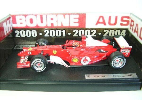 Rareté    Ferrari F 2004 M.Schumacher Australie bf1811