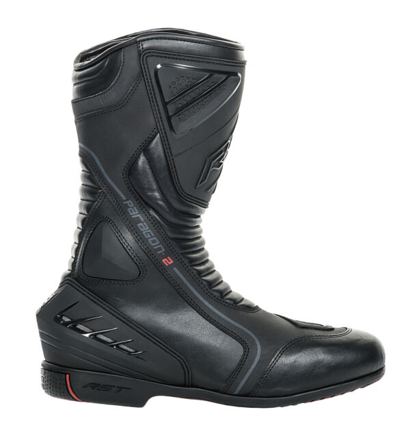 RST Mens Paragon 2 Waterproof CE Approved Motorcycle Boots Touring Street Road