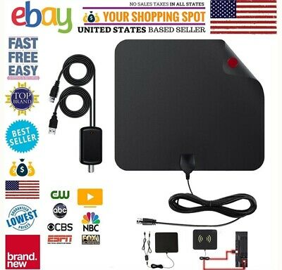 1 2 Pack Antenna Digital Hd Skywire Amplified Tv Indoor