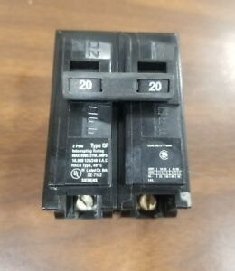 ITE B250 CIRCUIT BREAKER 2 POLE 50 AMP 240 VAC new pull-outs ! SIEMENS