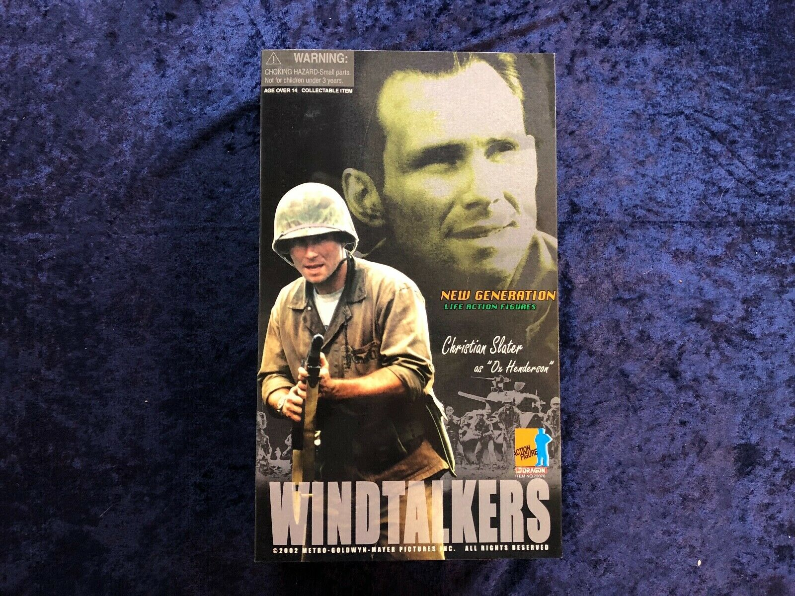 Dragon WWII 16 Windtakers Movie Christian Slater as Ox Henderson