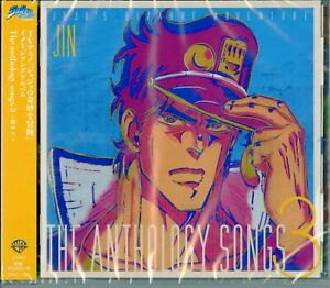 JIN-HASHIMOTO-JOJO-039-S-BIZARRE-ADVENTURE-THE-ANTHOLOGY-SONGS-3-JAPAN-CD-E25