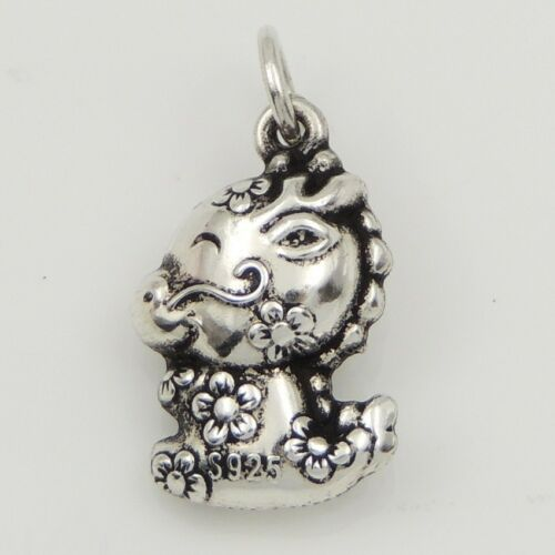 S925 Sterling Silver Chinese Zodiac 16x12mm Year Of Dragon Bracelet Pendant